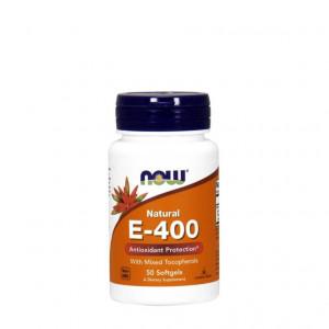 Витамин NOW E-400 DA 50 мягких капсул