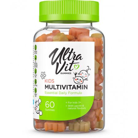 Витамины детские UltraVit Gummies Kids Multivitamin 60 таблеток