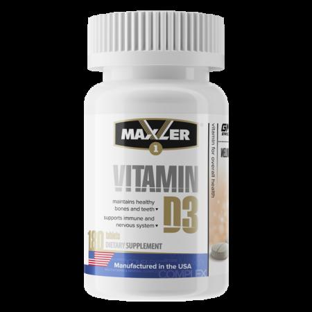 Витамин Д-3 Maxler Vitamin D3 180 таб