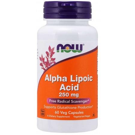 NOW Alpha Lipoic Acid 250mg 60caps